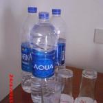 каждый день давали по бутылке воды