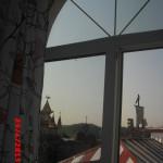 вид из окна гостиницы