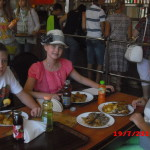 обед по пути в Варшаву