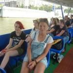 На кораблике по Москва-реке