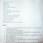 Рецепт кексов