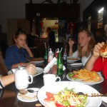 ужин в нашем ресторане
