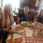 обед в итальянском ресторане