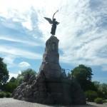 """Памятник Броненосцу """"Русалка""""- посвящен 177 морякам российского императорского флота, погибшим на броненосце"""
