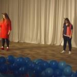 5. Крымова Алина и Орешкина Анастасия (группа Clever) - танец «Christmas hip-hop» (Рыженкова А.В.)