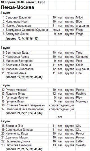 пенза-москва