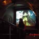 В музее мы смотрели фильм о Гагарине