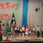 Награждение помощников в проведении Christmas Party